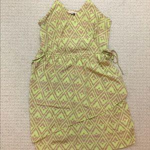 Rebecca Taylor silk printed tank dress